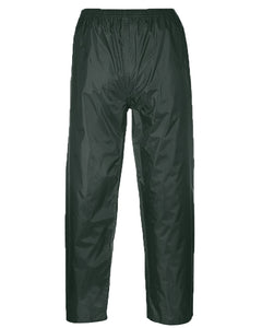 Portwest Green Classic Range Rain Pants