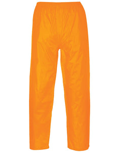 Portwest Orange Classic Range Rain Pants
