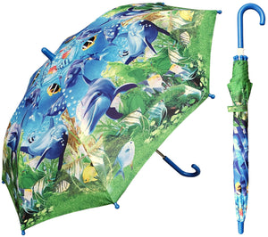 (3/Case) Kids Ocean Blue Fish Print 34