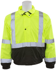 Class 2 ANSI/ISEA 107 Bomber Jacket with Fleece Liner