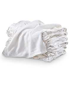 White Shop Towels / Mechanics Rags / Shop Rag / Oil Change Rag