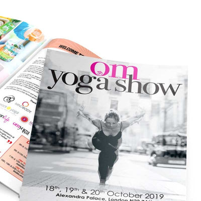 Join Us at The Om Yoga Show - 18-20 October at Alexandra Palace