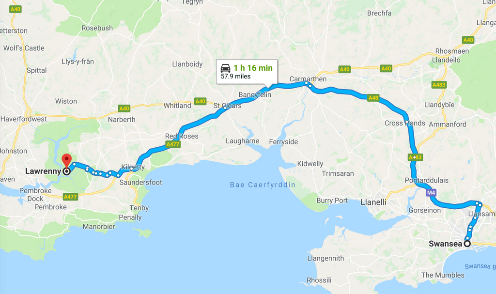 Getting to The Big Retreat Wales 2018 And Checking In
