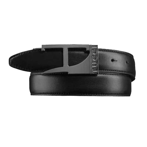 Leather Men Belt by Tucci
