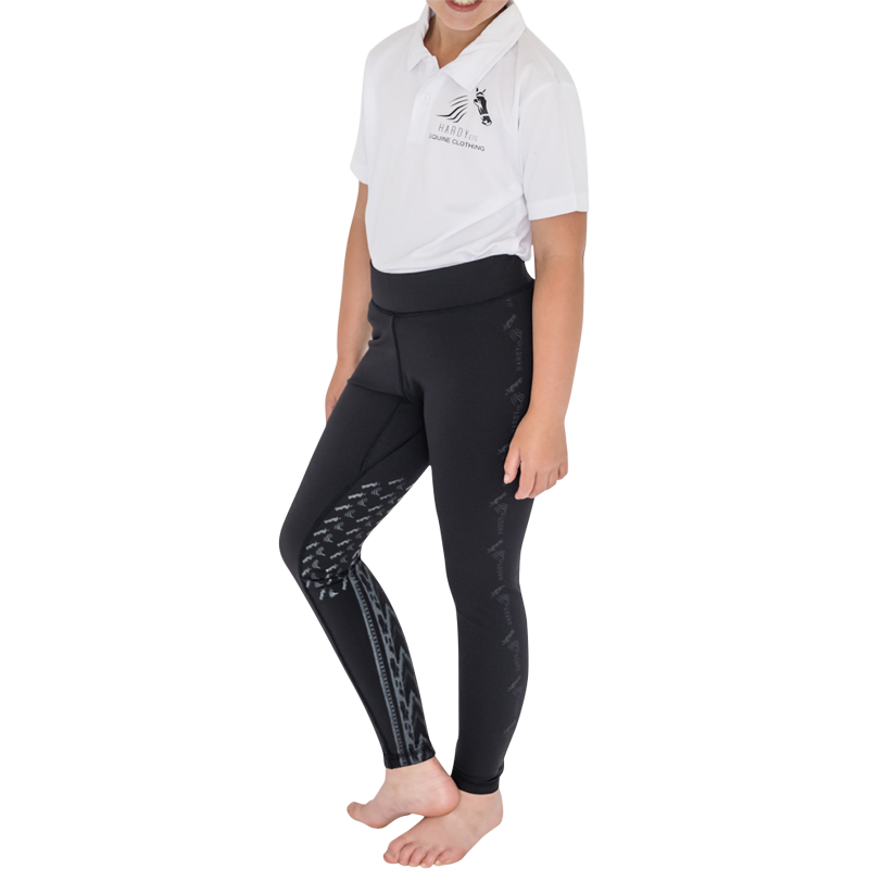 Children's Barland Riding Tights by Hardy Etc