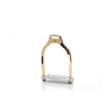 Jump Wave Luxy Gold Stirrups by Makebe