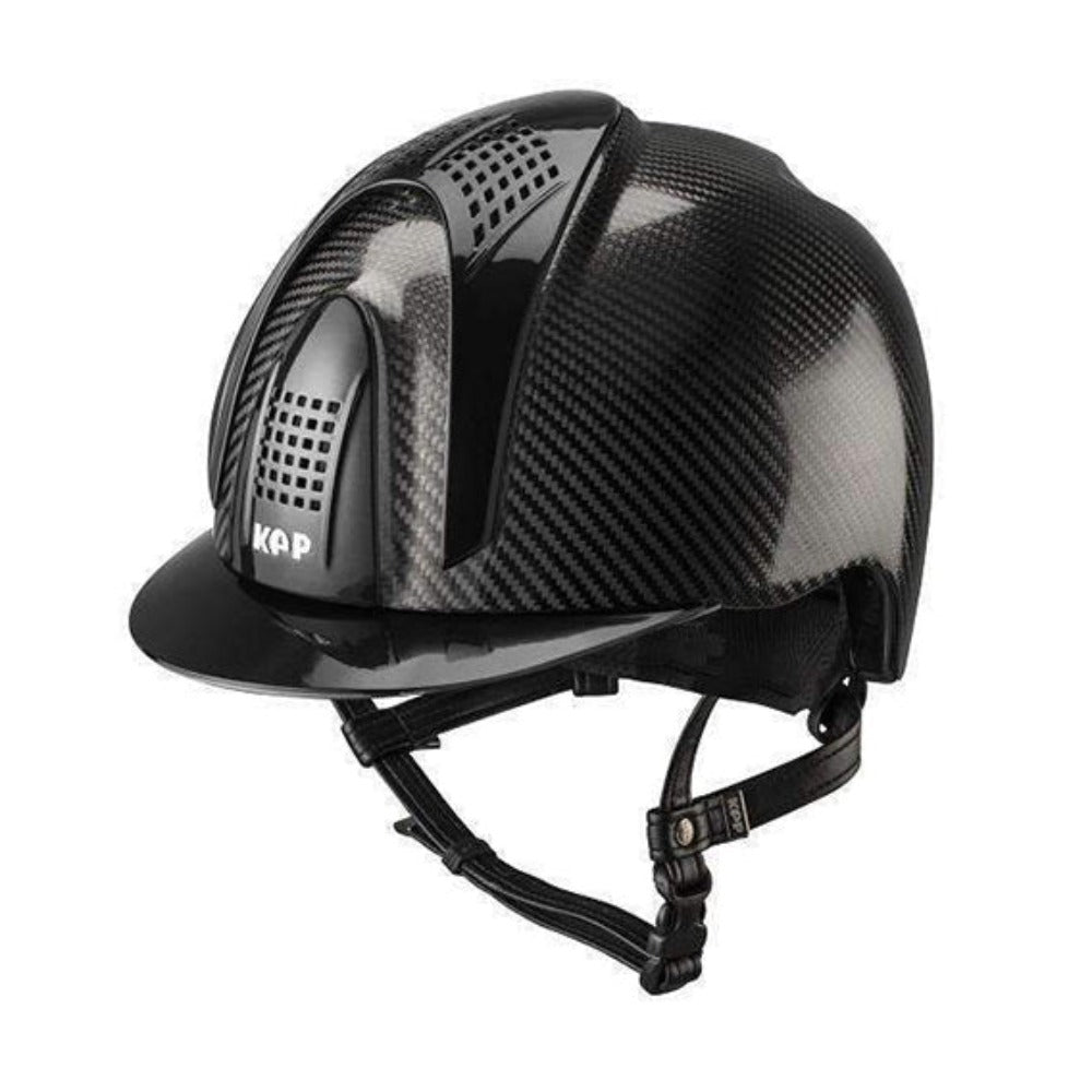 E-LIGHT Carbon Helmet - Naked Shine with 3 Shine Inserts by KEP