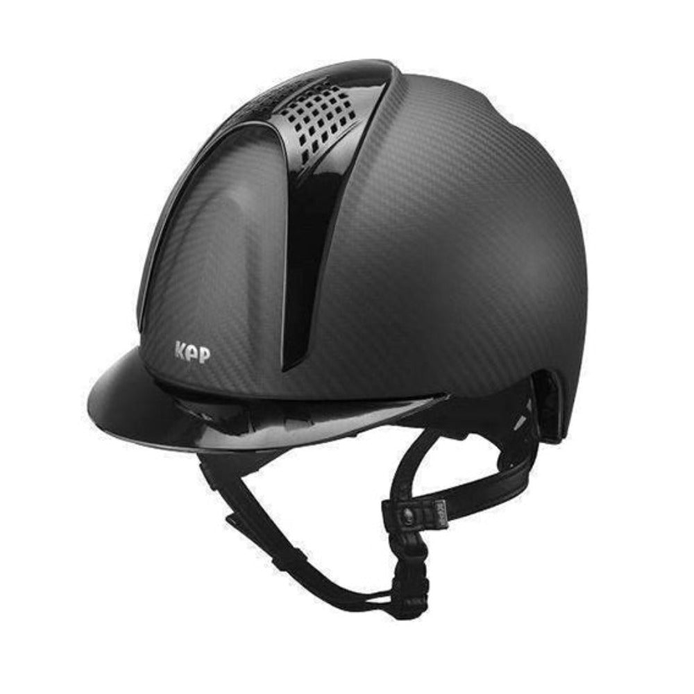 E-LIGHT Carbon Helmet - Naked Matt with 2 Shine Inserts by KEP