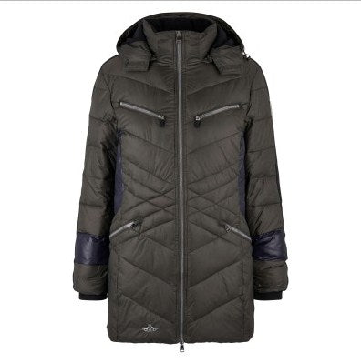 Padded Long Jacket Melville by HV Polo
