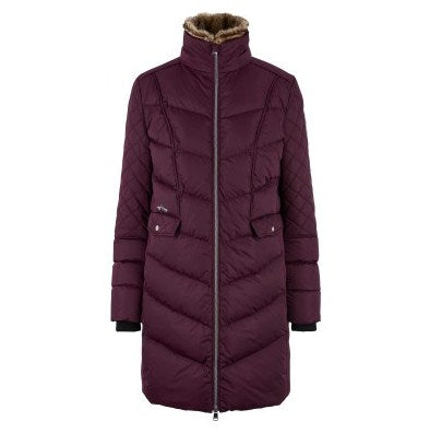 Padded Long Jacket Como by HV Polo