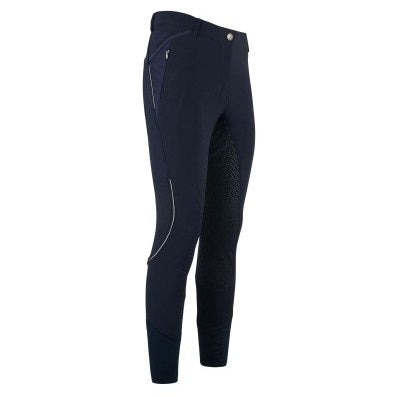 Ladies Breeches with Fullseat Silicone Gigi by HV Polo