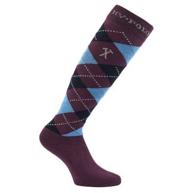 Socks Argyle Winter by HV Polo