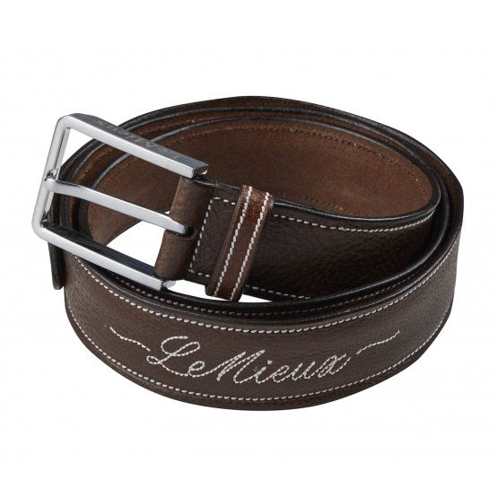 Signature Leather Belts by Le Mieux