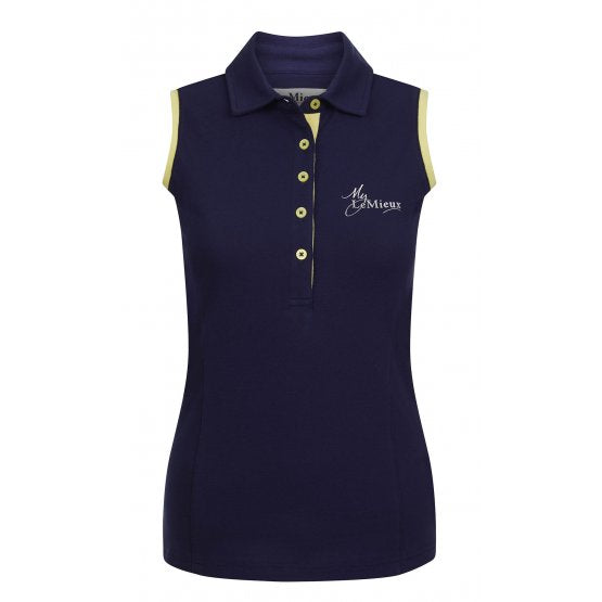 Sleeveless Polo Shirt by Le Mieux