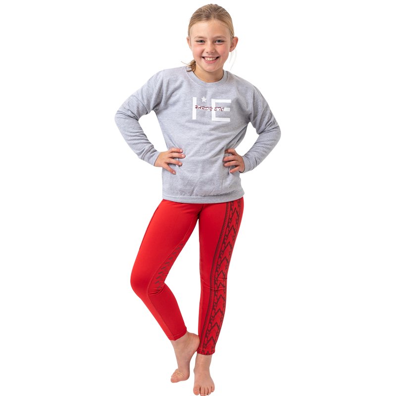 2ea59442057d6 Children's Woolhope Fleece Lined Riding Tights by Hardy Etc   Just ...