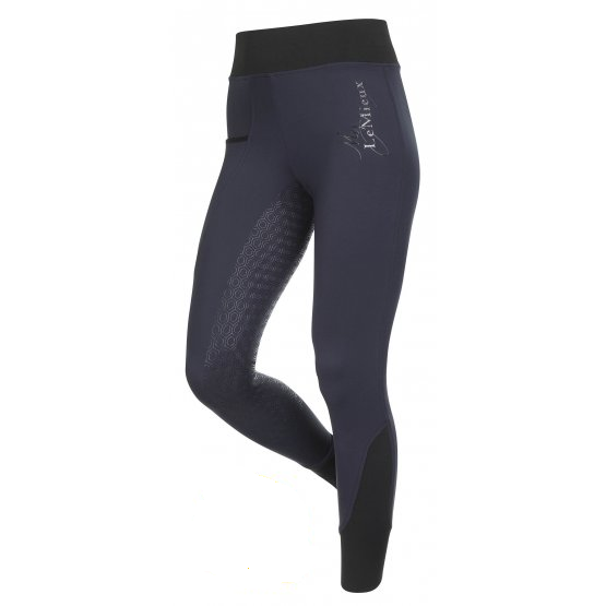 Activewear Pull On Seamless Breeches by Le Mieux