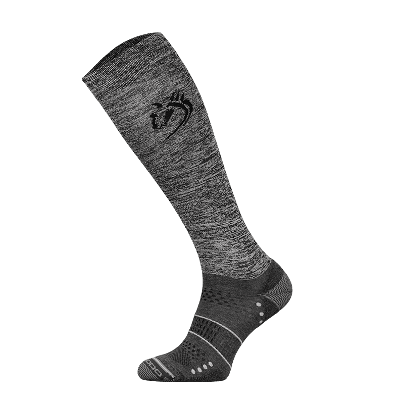 Comodo Socks - Melange with Horse Head (Technical)