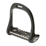 Dressage Stirrups with Rubber Treads by Lorenzini