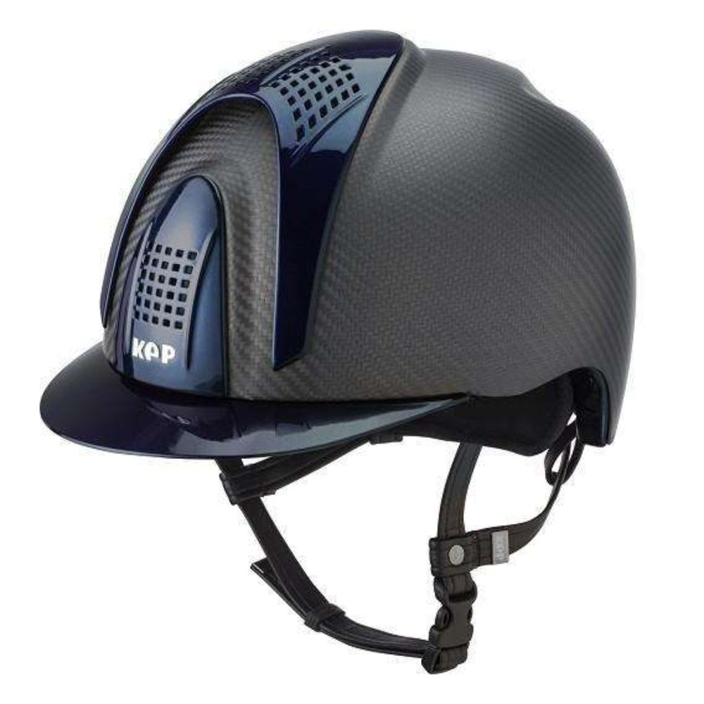 E-LIGHT Carbon Helmet - Naked Matt with 3 Shine Inserts by KEP