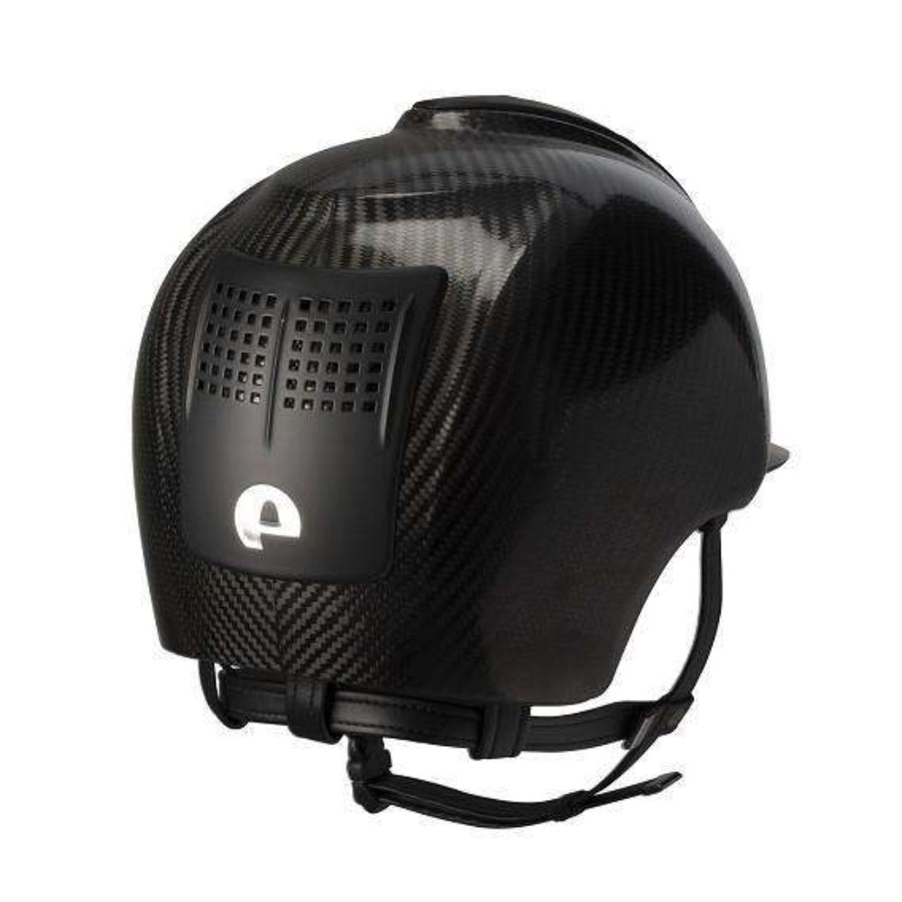 E-LIGHT Carbon Helmet - Naked Shine with 3 Matt Inserts by KEP