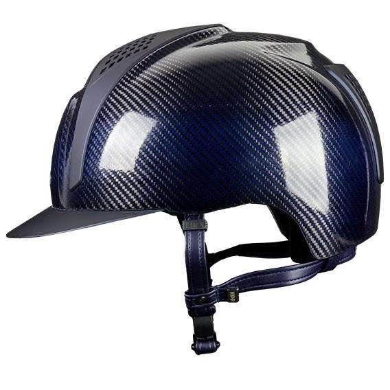 E-LIGHT Carbon Helmet - Shine with 2 Matt Inserts by KEP