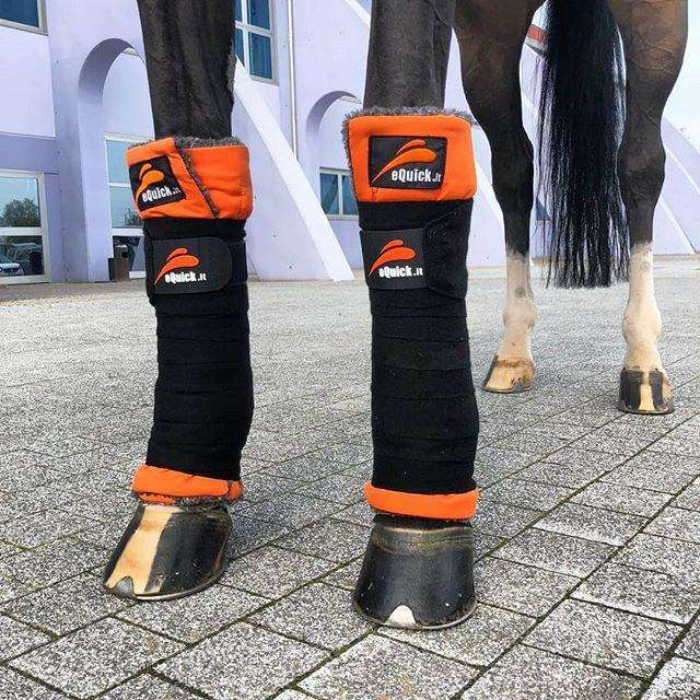 eKristal Therapeutic Leg Wraps by eQuick