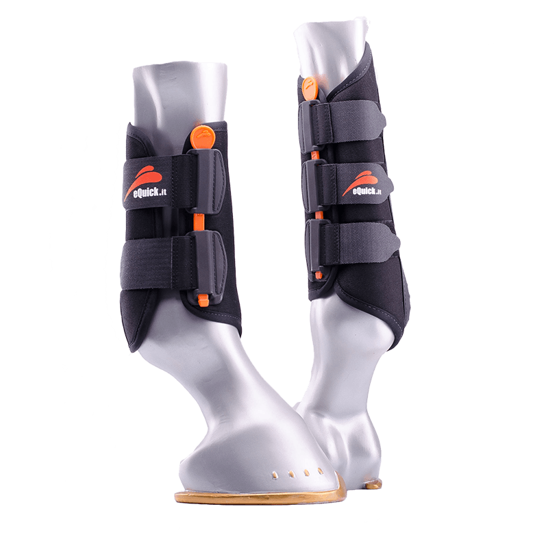eKur Luxury (Soft Fleece) Protection Boots by eQuick