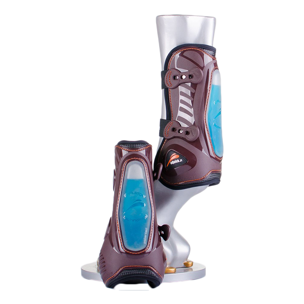 eShock Classic Snap Close Front Tendon Boots by eQuick