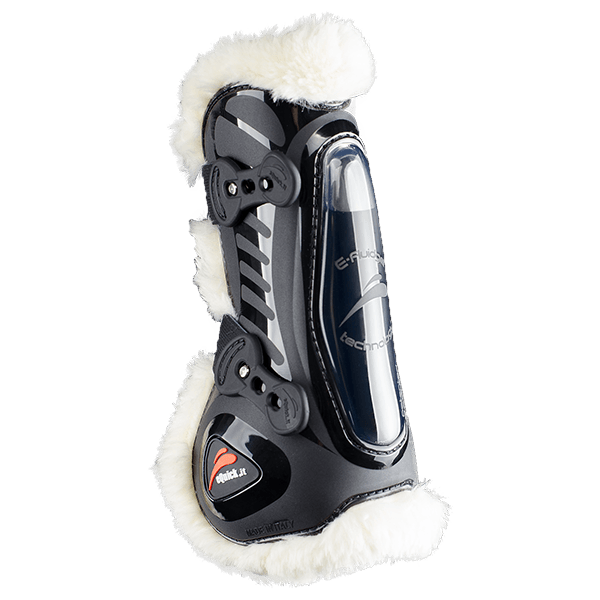 eShock Legend Front Fluffy Boots by eQuick