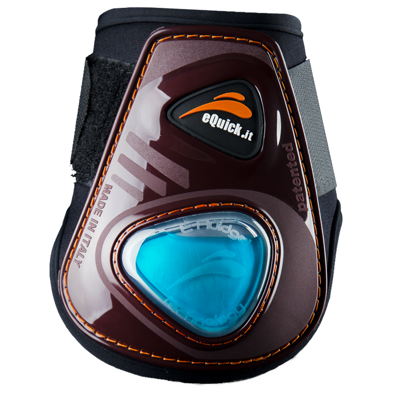eShock Rear Velcro Boots by eQuick