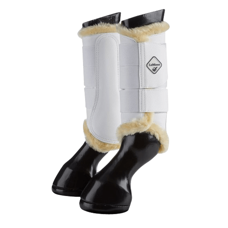 Fleece Lined Brushing Boots by Le Mieux