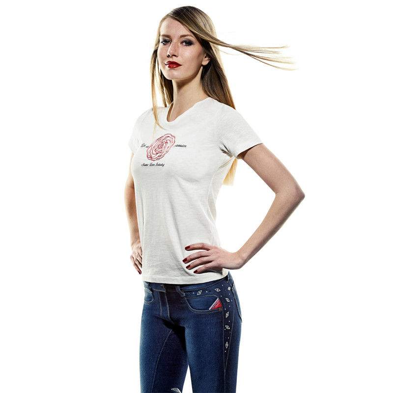 Ladies Cotton T-Shirt FIONA by Animo Italia (Clearance)
