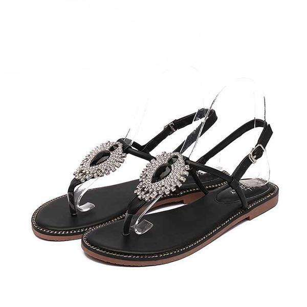 Ladies Crystal Sandals