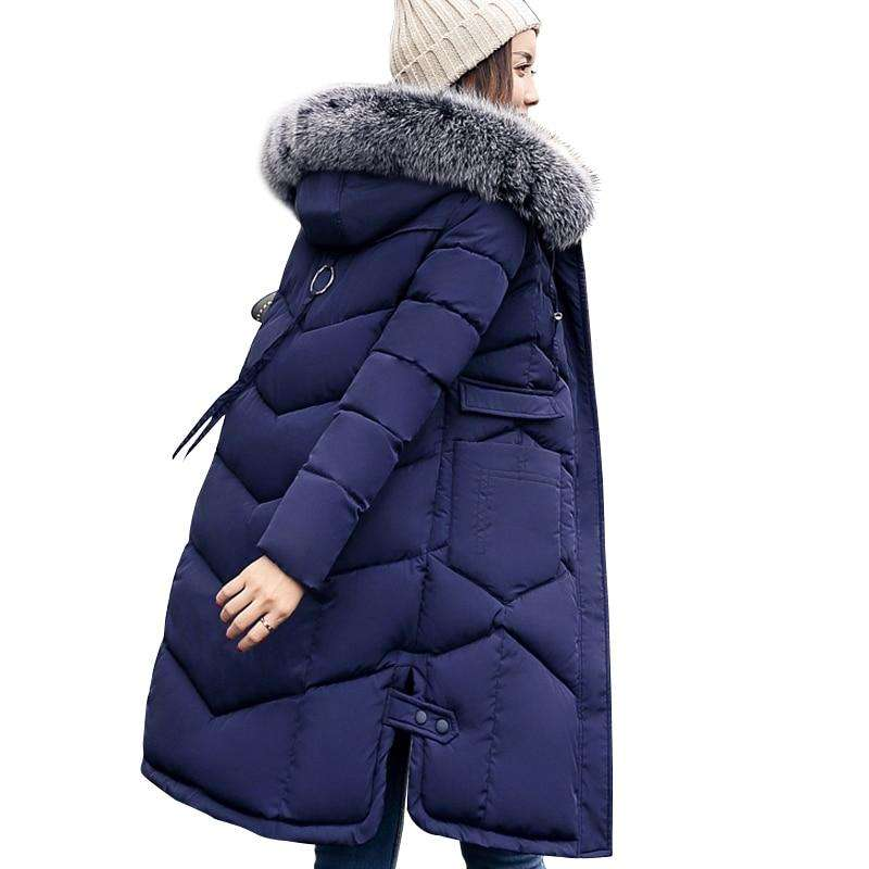 outlet for sale shop best sellers many styles Ladies Long Length Padded Winter 2018 Coat by Mark Chu