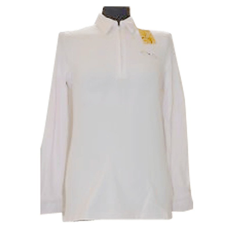 Ladies Long Sleeve Polo BLONDY by Animo Italia (Clearance)
