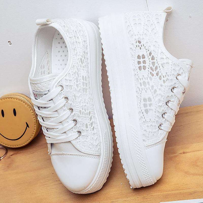 Ladies Shoes Platform Sneakers