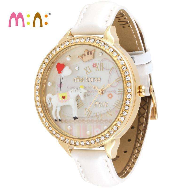 Ladies Wrist Watch Horse Design by Relojes Mujer