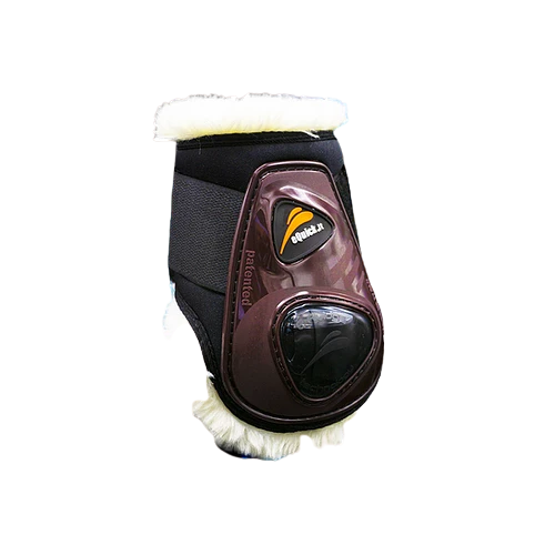 eShock Legend Rear Fluffy Velcro Boots by eQuick