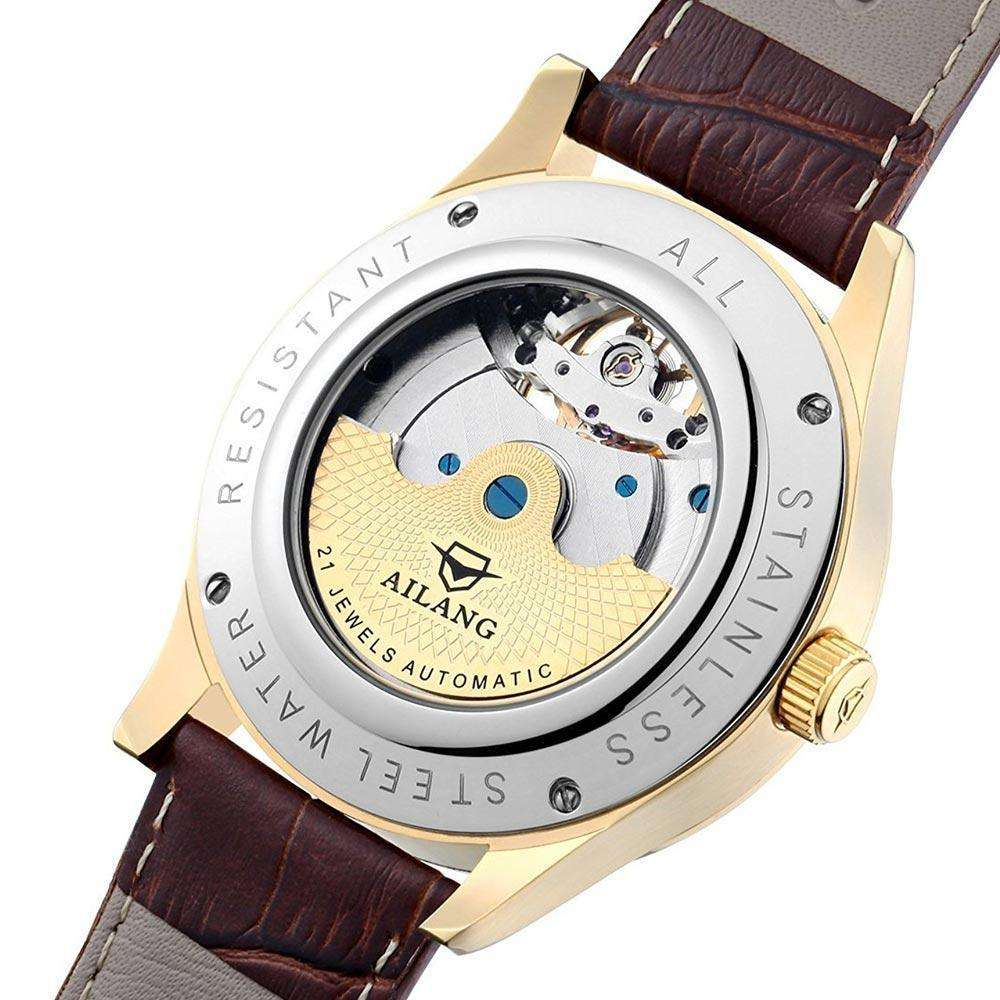 Mens Luxury Equestrian Inspired Swiss Wristwatch