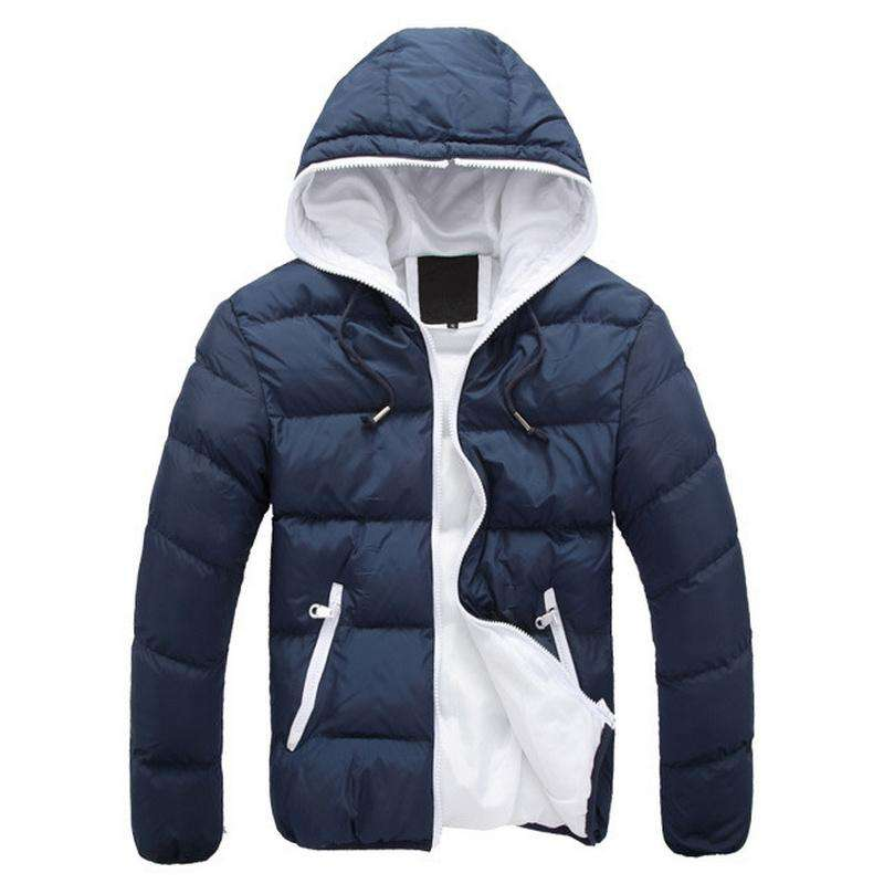 Mens Winter 2018 Padded Jacket with Hood