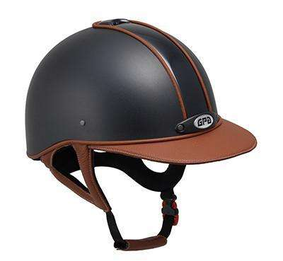 Riding Helmet Classic Leather by GPA