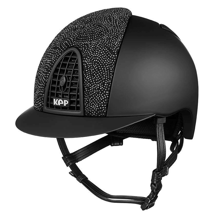 Riding Helmet Cromo Textile Damask Velvet by KEP