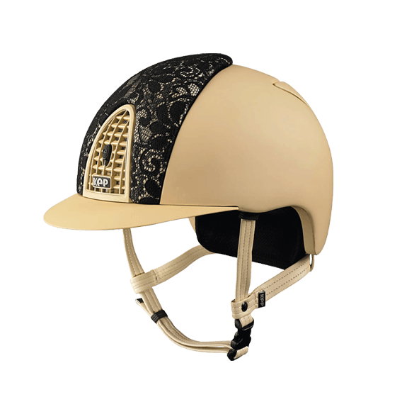 Riding Helmet Cromo Textile Lace by KEP