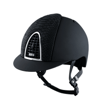 Riding Helmet Cromo Textile Python by KEP