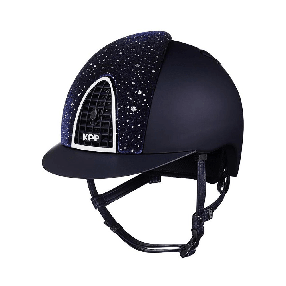 Riding Helmet Cromo Textile Sparkling by KEP