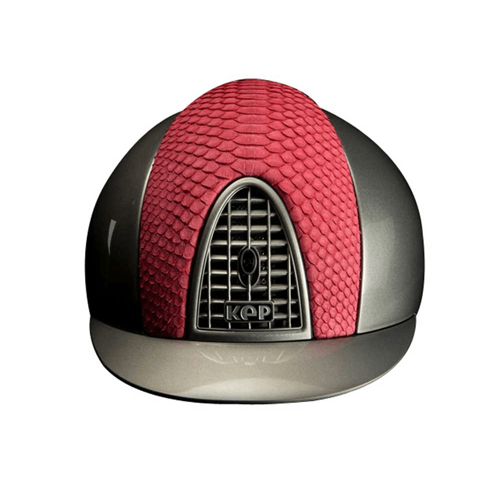 Riding Helmet Pink Python Limited Edition by KEP