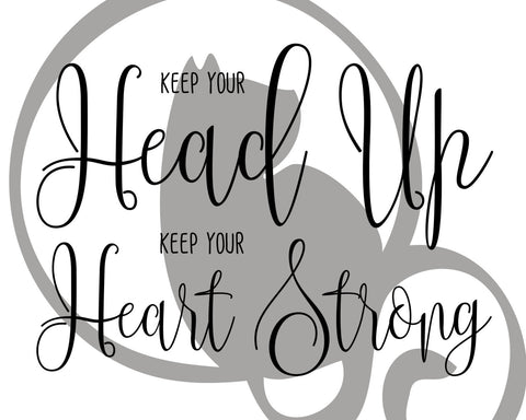Keep your head up, Keep your heart strong, Ben Howard, typography, lyrics,  Wall Print, Lyric Art, Instant Download