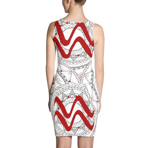 Aries Zodiac Dress