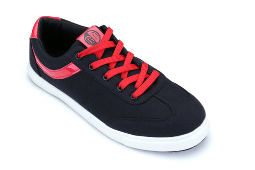 Sneaker - Hip hop - Black and red