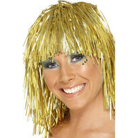 Tinsel Wig, Gold